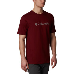 Columbia CSC Basic Logo Shortsleeve Shirt Herren red jasper